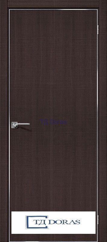 Межкомнатная дверь с экошпоном Порта-50 4A Wenge Crosscut