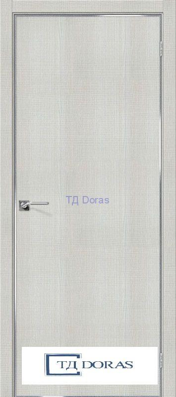 Межкомнатная дверь с экошпоном Порта-50 4A Bianco Crosscut
