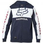 Fox Honda Zip Fleece Navy/White толстовка