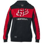 Fox Honda Zip Fleece Black/Red толстовка