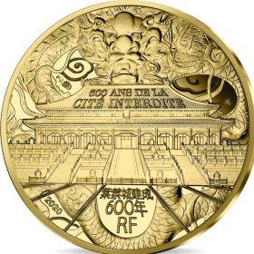600 лет Запретному городу  1/4 Евро Франция 2020 на заказ
