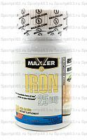 Iron 25 мг от Maxler