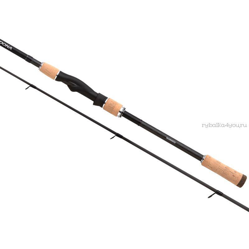 Спиннинг Shimano Sedona 611M CORK 211 см / тест  7 - 35 гр