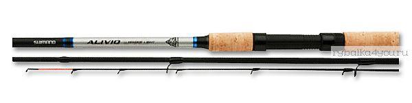 Фидер Shimano Alivio CX Heavy Feeder 13'0'' тест 110 гр /  396 см