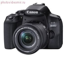 Зеркальный фотоаппарат Canon EOS 850D Kit 18-55 IS STM