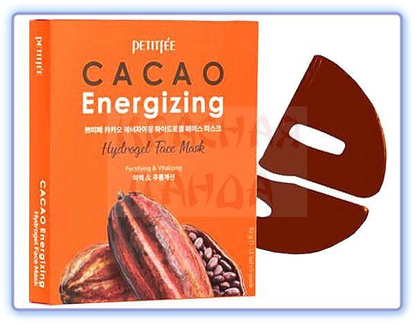 Маска для лица Petitfee Cacao Energizing Hydrogel Face Mask