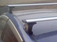 Багажник на крышу Mazda 3 BK/BL 2003-13, Евродеталь, крыловидные дуги