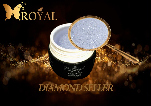 DIAMOND SELLER ,  топ для геля с микроблеском