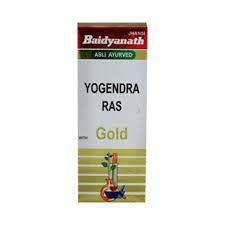 Йогендра Рас с золотом Бадьянатх. Yogendra Ras with gold Baidyanth. 5 таб. 150 мг