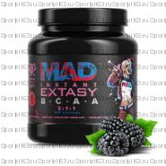 GeneticLab Nutrition MAD Instant Extasy BCAA 2:1:1 (500 гр.) ежевика