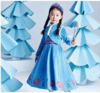 Платье Анны Холодное сердце 2 Дисней голубое Dream Party