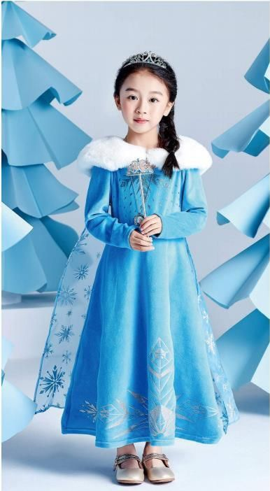 Платье Эльзы - Олаф и Холодное приключение  Дисней Dream Party