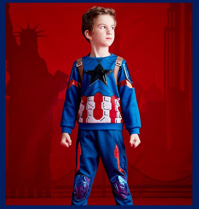 Костюм Капитан Америка Dream Party в подарочной коробке