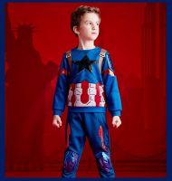 Костюм Капитан Америка Dream Party в подарочной коробке купить