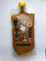 Натуральное пюре персиковое Bob Snail,400 грамм