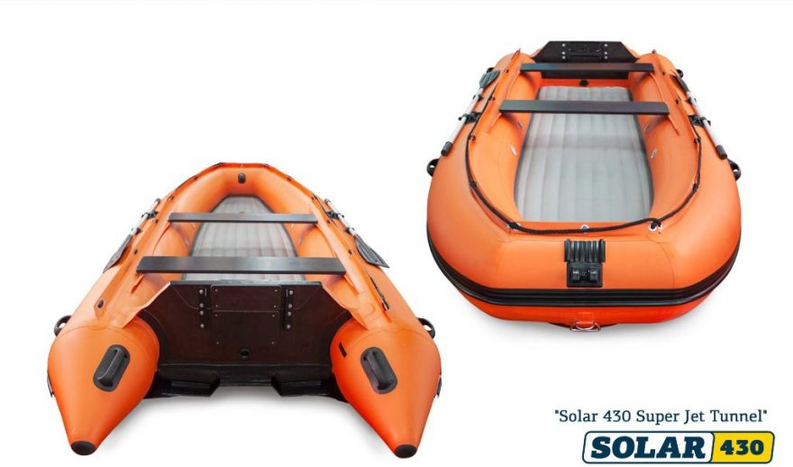 Лодка НДНД SOLAR-430 Super Jet tunnel