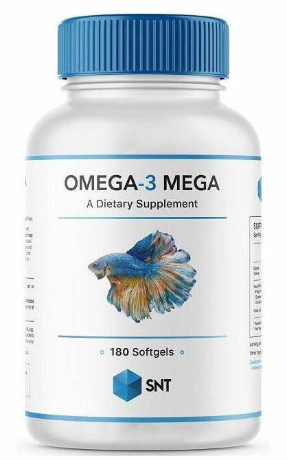 SNT Omega 3 Mega 330/220 180 капсул