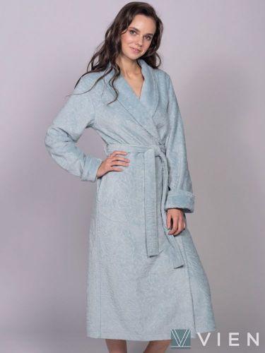 Женский бамбуковый халат Carlotta ниагара
