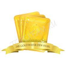 24k Gold Water Dual Snail mask pack  Маска для лица улиточная 25 гр