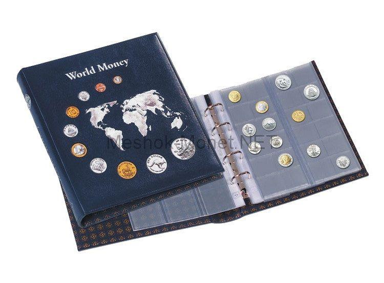 """Альбом для монет серии """"OPTIMA"""" World Money с 5 листами"""