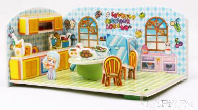 """3D пазл """"Кухня"""""""