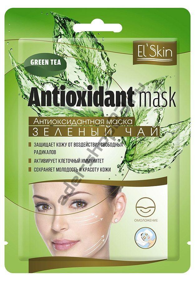 """El'Skin Антиоксидантная маска """"Зеленый чай"""","""