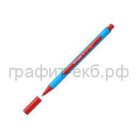 Ручка шариковая Schneider Edge VG трехгранная F 0.8мм красная 152002