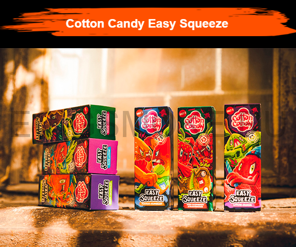 EASY SQUEEZE SALT от Cotton Candy 120 мл