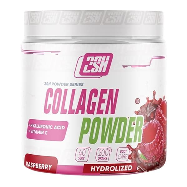 2SN Collagen Hyaluronic Acid + Vit C powder 200 g (Малина)