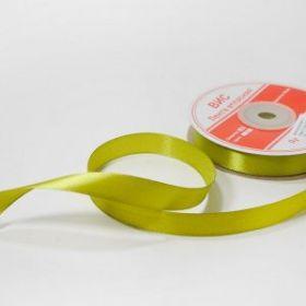 Лента атласная 01 см цвет оливковый