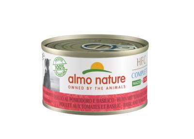 """Полнорационные консервы для собак Итальянские рецепты: """"Курица с базиликом и помидорами"""""""