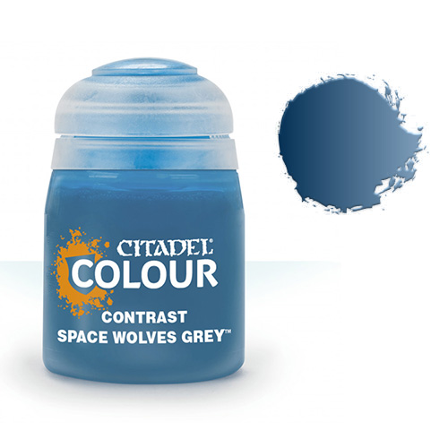 Контрастная краска Space Wolves Grey 29-36