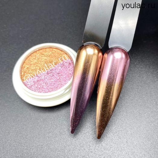 Запечённая втирка Youlac rose+bronze - новинка 2021