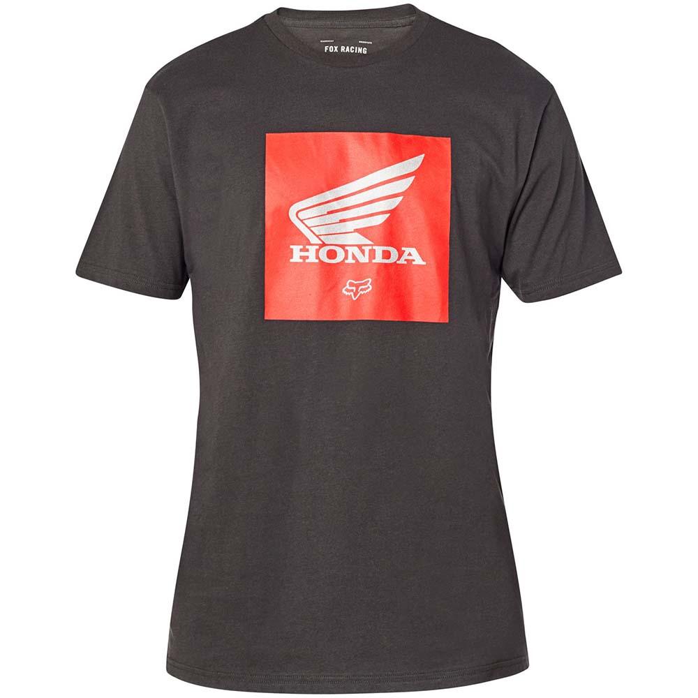 Fox Honda SS Premium Update Black Vintage футболка