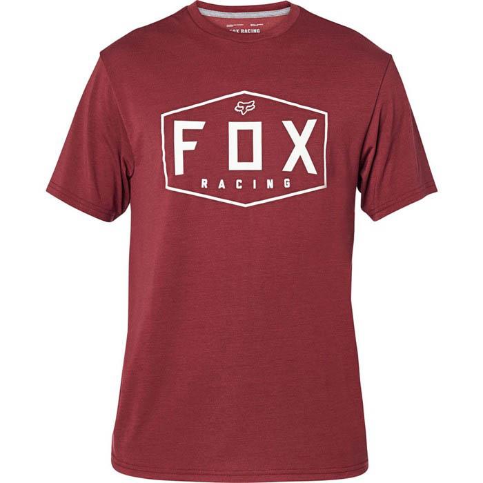 Fox Crest SS Tech Tee Cranberry футболка
