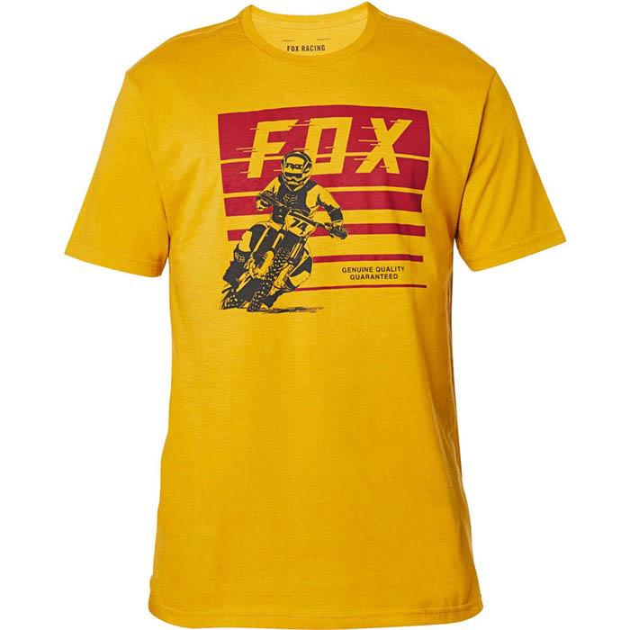 Fox Advantage SS Premium Tee Mustard футболка
