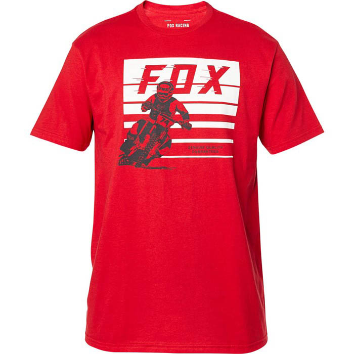 Fox Advantage SS Premium Tee Chili футболка