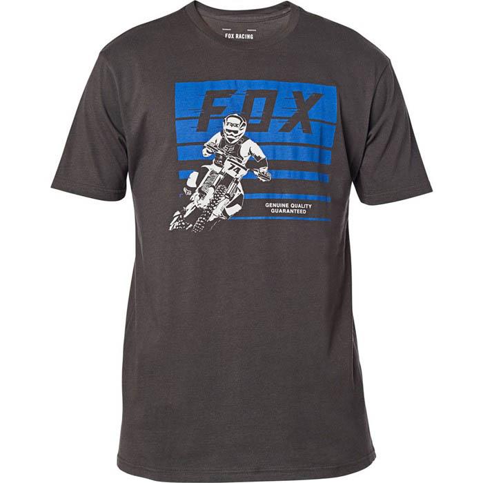 Fox Advantage SS Premium Tee Black Vintage футболка