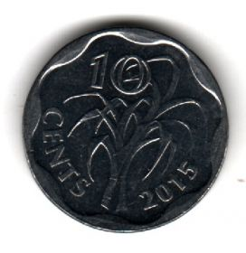 Свазиленд 10 центов 2015