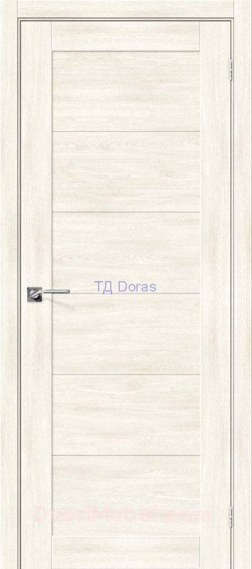 Межкомнатная дверь с экошпоном Легно-21 Nordic Oak