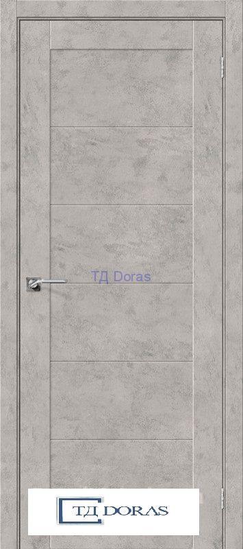 Межкомнатная дверь с экошпоном Легно-21 Grey Art