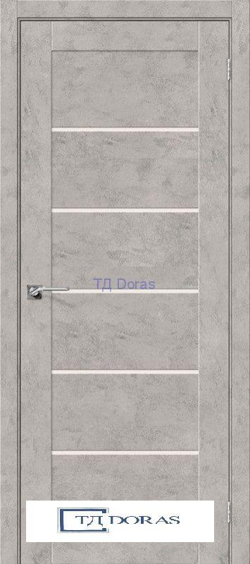 Межкомнатная дверь с экошпоном Легно-22 Grey Art