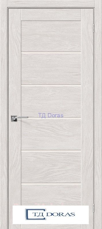 Межкомнатная дверь с экошпоном Легно-22 Chalet Blanc