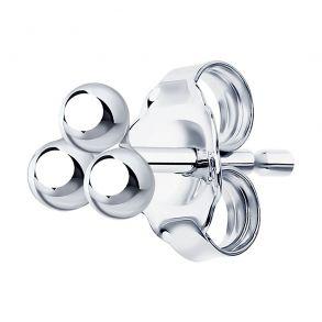 Серьга из серебра 94170129 SKLV