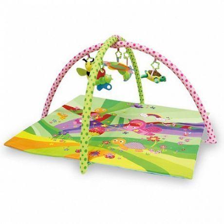 Развивающий игровой коврик Lorelli Toys Сказка зеленый