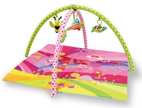 Развивающий игровой коврик Lorelli Toys Сказка розовый
