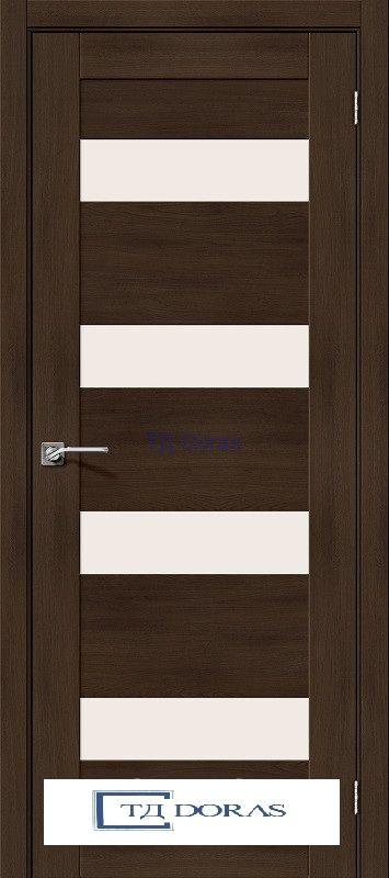 Межкомнатная дверь с экошпоном Легно-23 Dark Oak