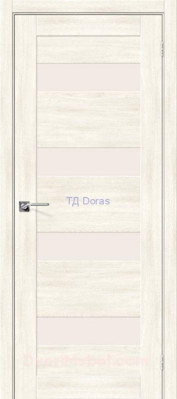 Межкомнатная дверь с экошпоном Легно-23 Nordic Oak