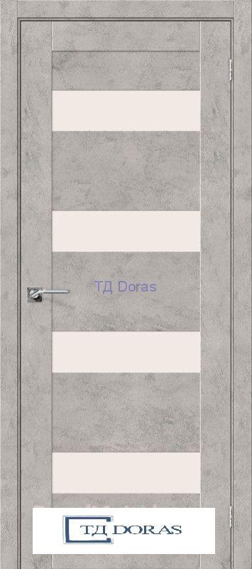 Межкомнатная дверь с экошпоном Легно-23 Grey Art
