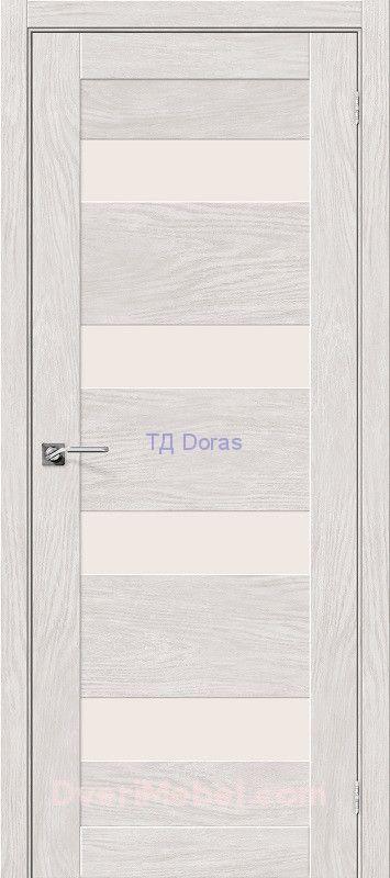 Межкомнатная дверь с экошпоном Легно-23 Chalet Blanc